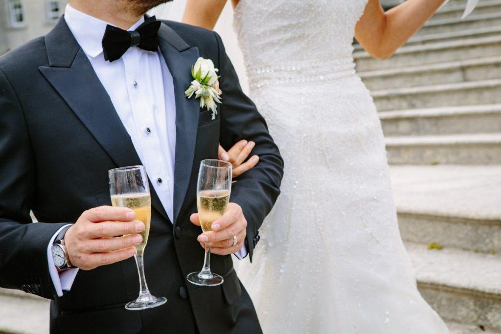 Hochzeit und Herrenmode