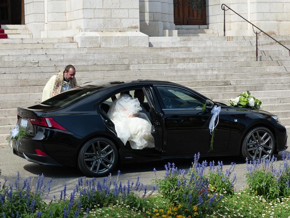 Einsteigen in den Lexus